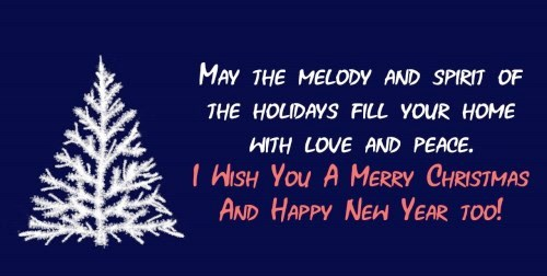 Merry Christmas and Happy New Year 2021 Greetings
