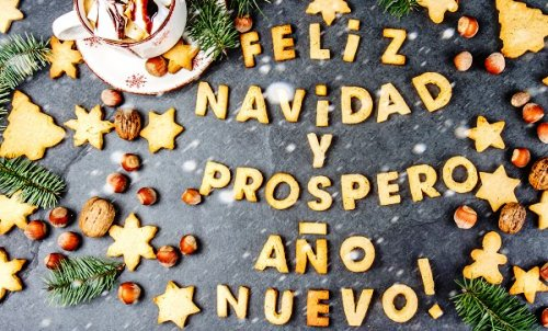 Merry Christmas and Happy New Year in Spanish 2020