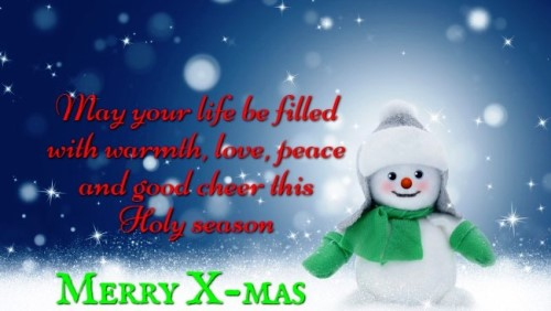 Wishes of Merry Christmas 2020